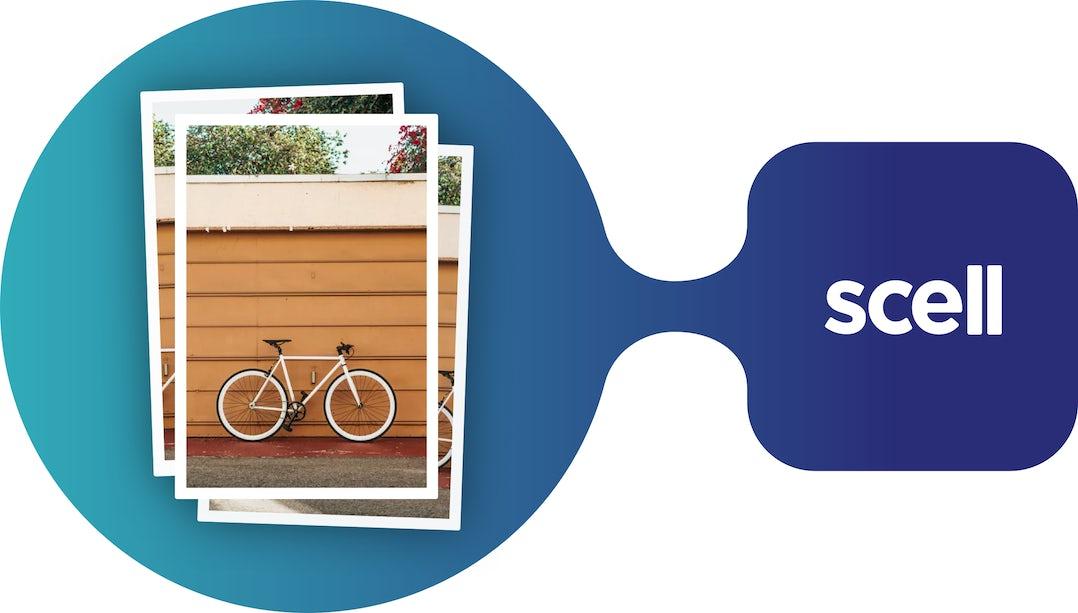 Nouveauté dans l'application Scell : utilisez les photos de votre librairie pour publier vos petite annonces.